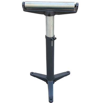 Freeshipping! KAKAIndustrial Stands and Supports RB1100 Super Duty Adjustable 24-Inch to 43-Inch Tall Pedestal Roller Stand with 12-Inch Ball Bearing Roller, 600 Lbs. Material support