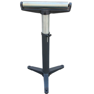 KAKAIndustrial Stands and Supports RB-1100 Super Duty Adjustable 24-Inch to 43-Inch Tall Pedestal Roller Stand with 12-Inch Ball Bearing Roller, 600 Lbs. Material support