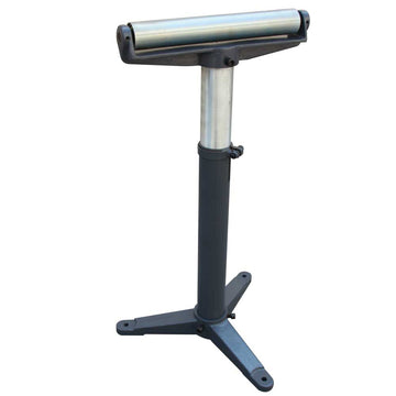 KAKAIndustrial Stands and Supports RB1100 Super Duty Adjustable 24-Inch to 43-Inch Tall Pedestal Roller Stand with 12-Inch Ball Bearing Roller, 600 Lbs. Material support