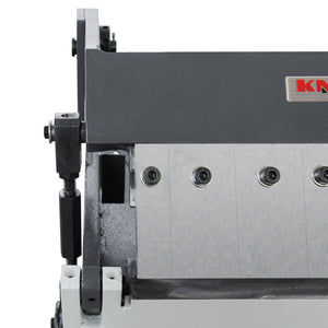 Free shipping! KAKA Industrial W-1220A 12-Inch Box and Pan Brake, Solid Construction, High Accuracy Sheet Metal Box Pan Brake, 20 Gauges Sheet Metal Brake