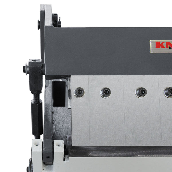 KAKA Industrial W-1220A 12-Inch Box and Pan Brake, Solid Construction, High Accuracy Sheet Metal Box Pan Brake, 20 Gauges Sheet Metal Brake