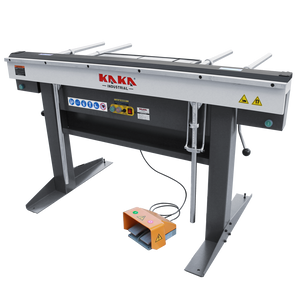 "kaka EB-6116 Manual Magnetic Sheet Metal Box and Pan Brake, 60"" Length ,1-Phase 220V, 16-Gauge Mild Steel Capacity"