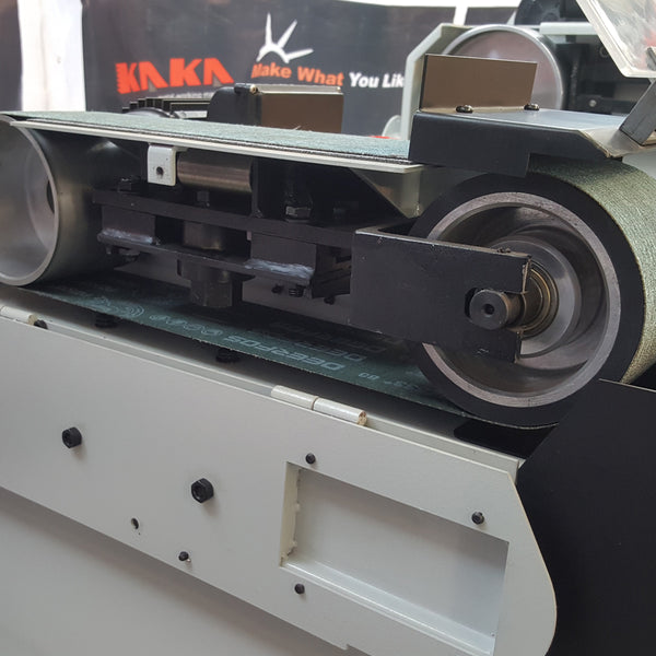 Kaka industrial BG-6  Belt Grinder, High Speed Belt Grinder