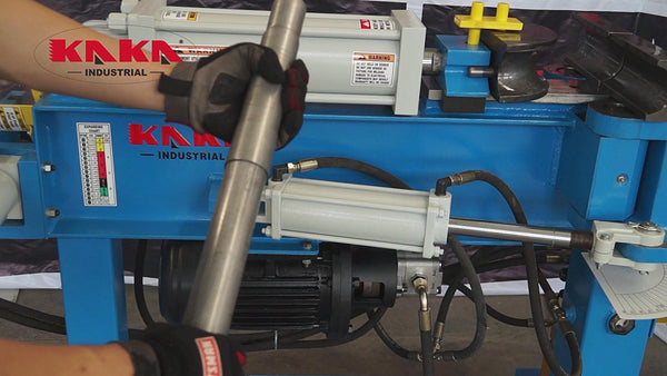 Kaka Industrial EPB-2 Hydraulic Exhaust Pipe Tube Bender, Heavy Duty Swager & Expander
