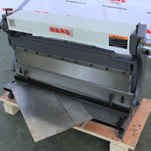 Load image into Gallery viewer, FREE SHIPPING! KAKA Industrial 3-In-1/30 30-Inch Sheet Metal Brake, Shear and Slip Roll Machine