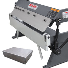 Load image into Gallery viewer, FREE SHIPPING! KAKA Industrial W-2420A 24-Inch High Precision Pan & Box Brake, 20 Gauges Sheet Metal Brake