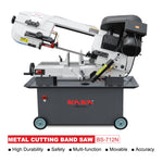 KAKA Industrial BS-712N 7-inch Metal Cutting Band Saw 7x12 Inch Solid Horizontal