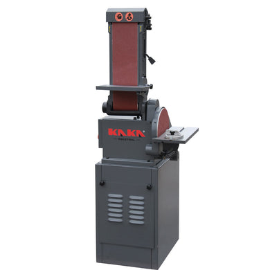 KAKA INDUSTRIAL BTM-250 5X48-Inch Belt and 9-Inch Disc Sander with Cast Iron Base