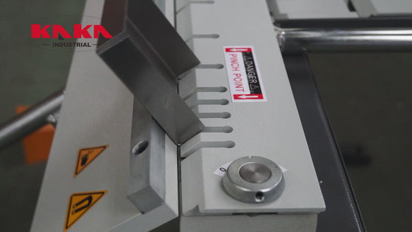 KAKA Industrial EB-4816B Manual Magnetic Sheet Metal Brake, Box and Pan Brake, 1-Phase 220V