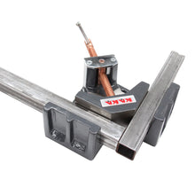 Load image into Gallery viewer, KAKA Industrial AC-100 Angle Clamp, Solid Construction, 90 Degree Welding Angle Clamp, Heavy-Duty Cast-Iron Angle Clamp Vice