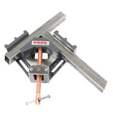 Load image into Gallery viewer, KAKA Industrial AC-60 Angle Clamp, Light-Weight, Easy Operation Angle Clamp Vice, Solid Construction, 90 Degree Welding Angle Clamp