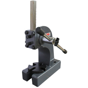 "KAKA Industrial AP-1/2 Arbor Press, 1/2"" Ton Cast Iron Arbor Press, 3"" Height Heavy Duty Arbor Press"