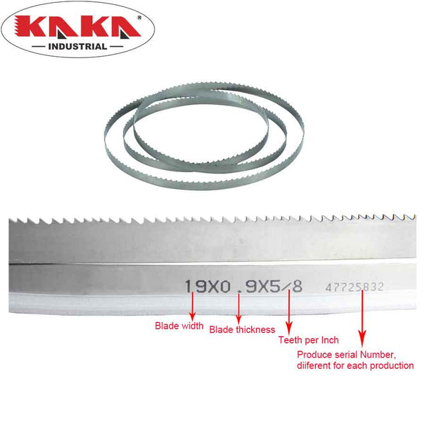 KAKA Industrial bi-metal bandsaw blade for BS-712N, BS-712R