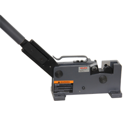 KAKA Industrial MS-28 Sheet Metal Hand Shear, Rebar, Rod & Round Steel, Flat Bar Cutter