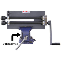 "KAKA Industrial RM-12 Rotary Machine, 12"" Throat Depth Sheet Metal Fabrication Bead Roller"
