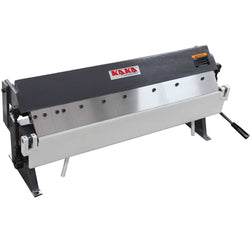 KAKA Industrial W1.0x915A 36-In Box and Pan Brake, High Precision, Easy Adjustment Sheet Metal Box Pan Brake, 20 Gauges Sheet Metal Brake