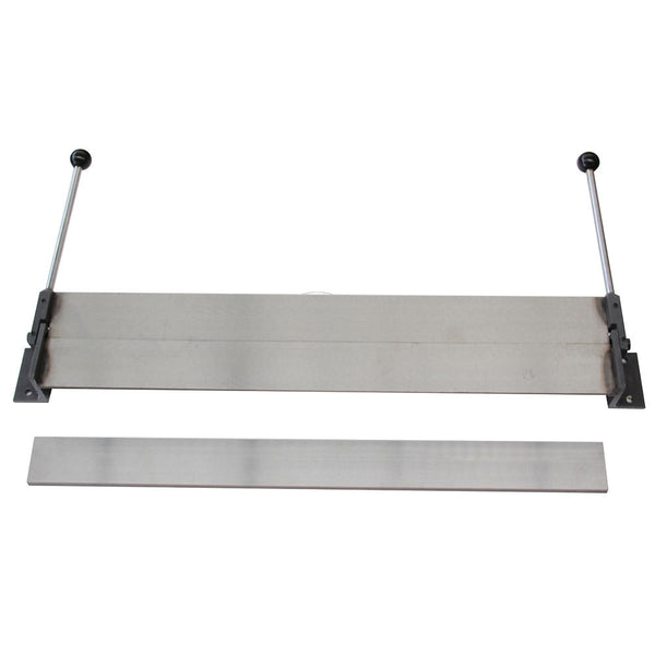 KAKA Industrial W1.2x760 30-Inch Sheet Metal Bending Brake, 18 Gauge Mild Steel and 16 Gauge Aluminum