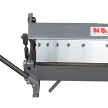 Load image into Gallery viewer, KAKA Industrial W2416Z 24-Inch Sheet Metal Brake, Solid Construction, High Precision Pan and box Brake