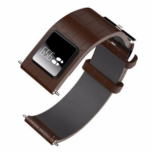Leather Band Smart Watch