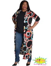 Load image into Gallery viewer, TNT COLOR PRINT CIRCLE CARDIGAN