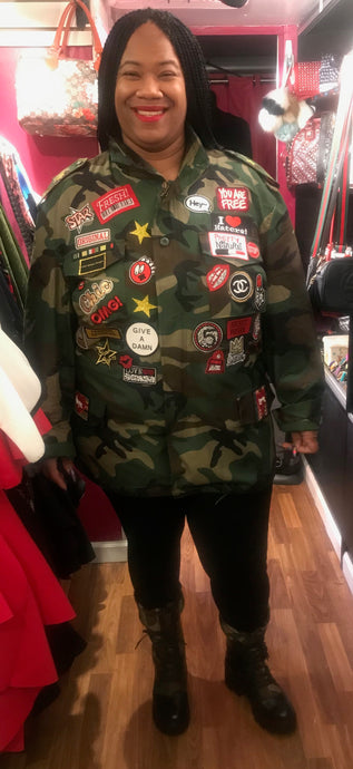 TNT INSPIRATIONAL ARMY JACKET