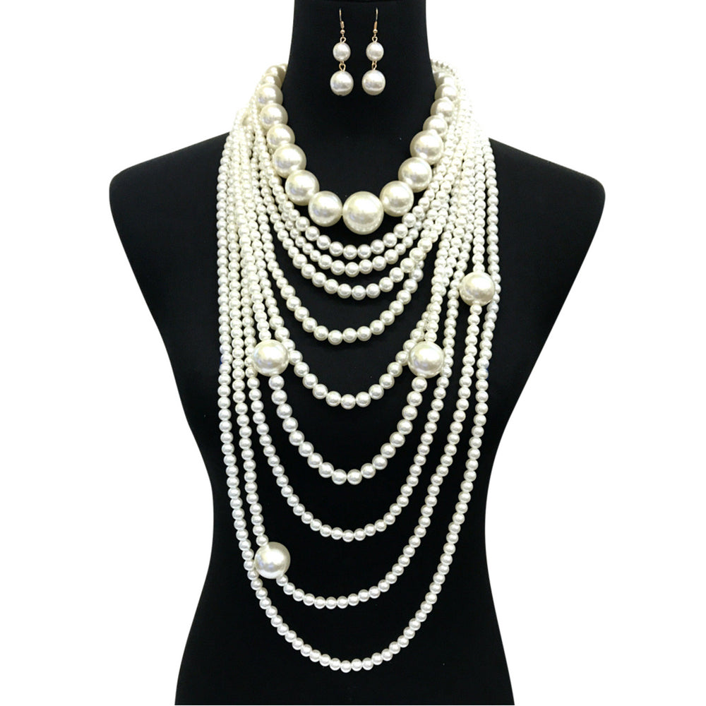 TNT LONG PEARL NECKLACE