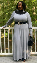 Load image into Gallery viewer, TNT GRAY RELAX MAXI DRESS