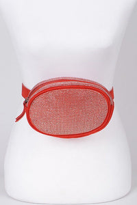 TNT Red Bling Fanny Pack