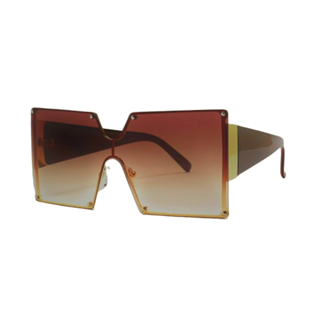 TNT BROWN FASHION SUNGLASSES