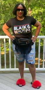 TNT MY BLACK IS BEAUTIFUL CUSTOM TEE