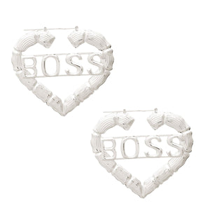 TNT BOSS LADY EARRINGS