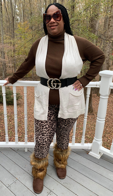 TNT LEOPARD PRINT LEGGINGS