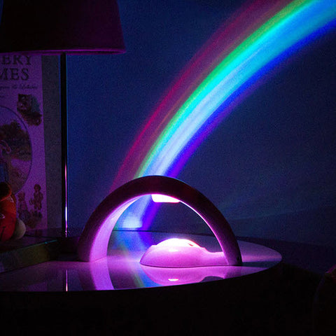3D Halo Rainbow Projector Night Light
