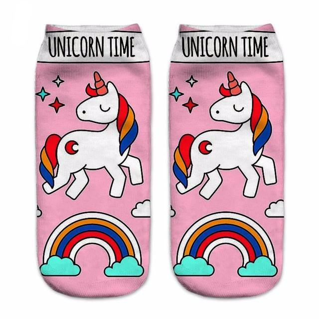 Assorted Short Unicorn Summer Socks-100 Unicorns