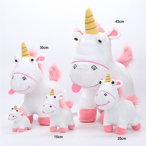 Sizes of Despicable Me  Stuffed Unicorns