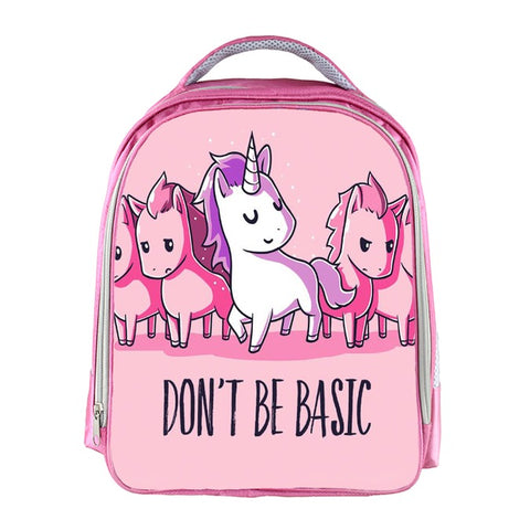 Don't Be Basic Unicorn Backpack