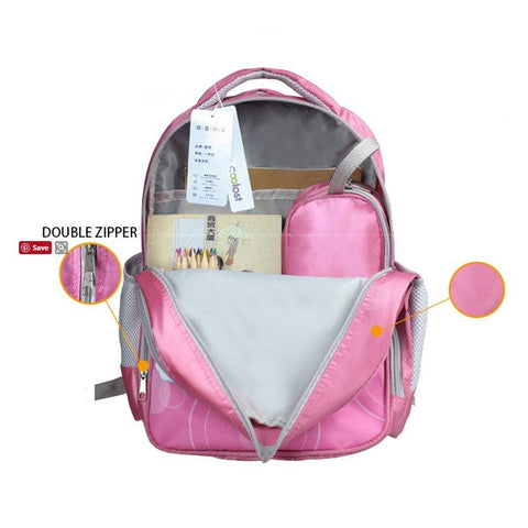 Inside Striped Unicorn Backpack