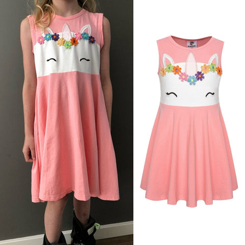 Unicorn Princess Summer Dress