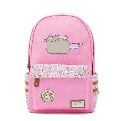 Pink Cat Unicorn Backpack