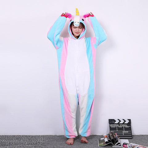Pink Rainbow Unicorn Costume