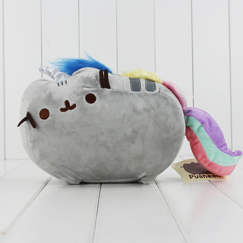 Rainbow Caticorn Soft Plush Toy