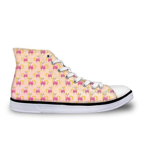 Peach Unicorn Shoe