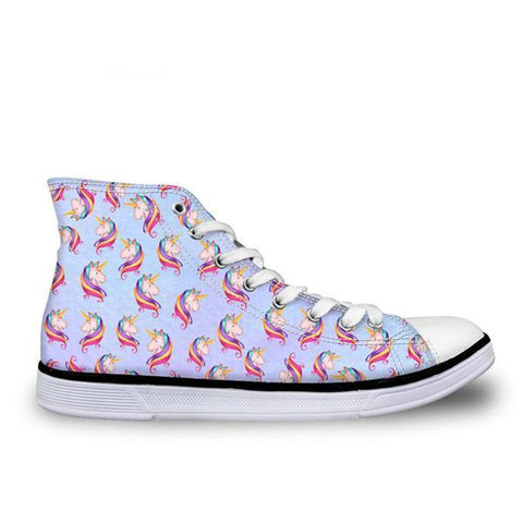 Blue Unicorn Shoe