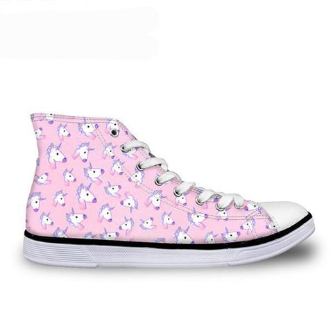 Pink Canvas High Top