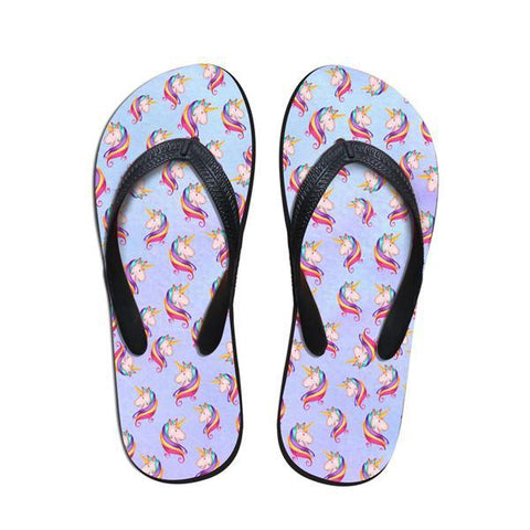Women's Unicorn Thong Sandals