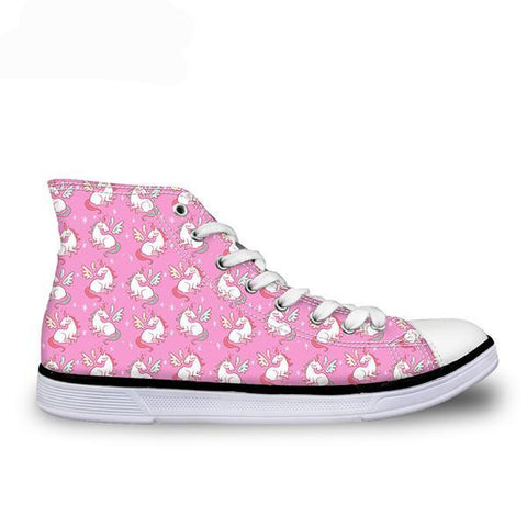 Pink Unicorn Shoe