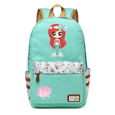 Mermaid Backpack Style 1