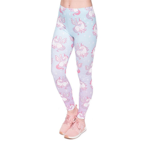 Women's Winged Unicorn Tights