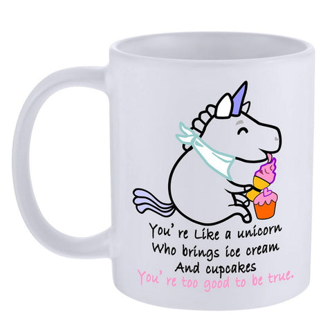 Unicorn Coffee Mug Style 6