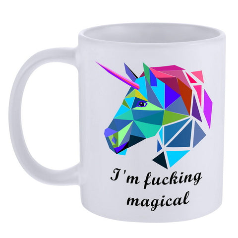Unicorn Coffee Cup Style 9